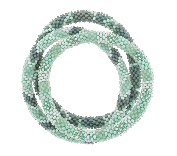 Roll-On® Bracelets <br> Sea Glass