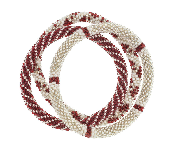 Sorority Roll-On® Bracelets <br> Alpha Phi