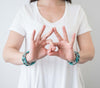 Sorority Roll-On® Bracelets <br> Zeta Tau Alpha