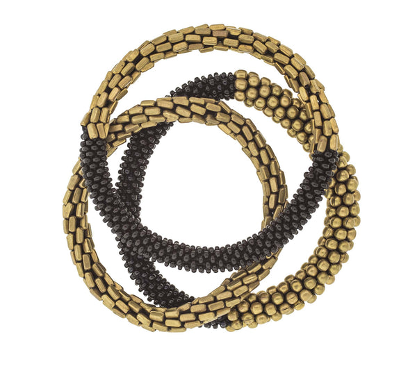 <br> Statement Roll-On® Bracelets <br> Golden Hema