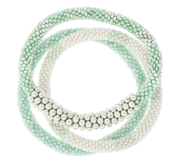 <br> Statement Roll-On® Bracelets <br> Sea Glass