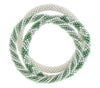 Game Day Roll-On® Bracelets <br> Green and White