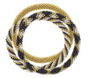Game Day Roll-On® Bracelets <br> Gold, White, and Black