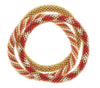 Game Day Roll-On® Bracelets <br> Red and Gold