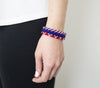 Game Day Roll-On® Bracelets <br> Red, White, and Blue