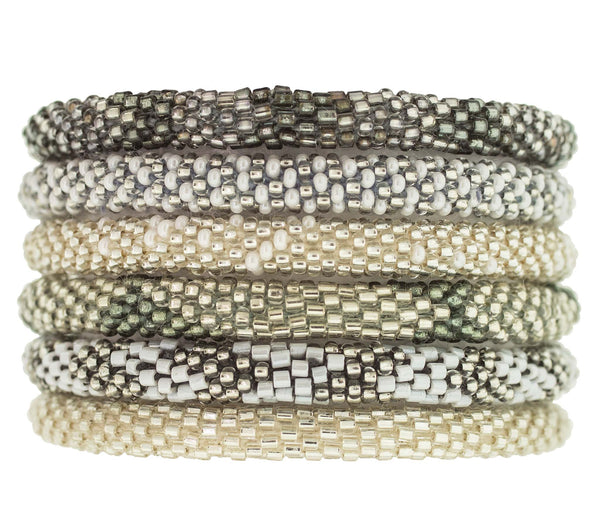 Roll-On® Bracelets <br> Platinum