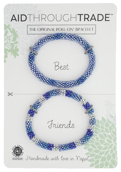 Roll-On® Friendship Bracelets <br> Arctic Blue