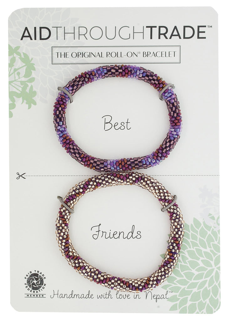 Roll-On® Friendship Bracelets <br> Cranberry Spice