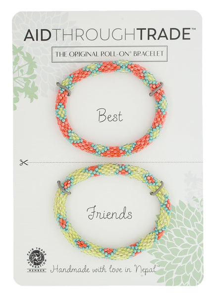 Roll-On® Friendship Bracelets <br> Coral Reef