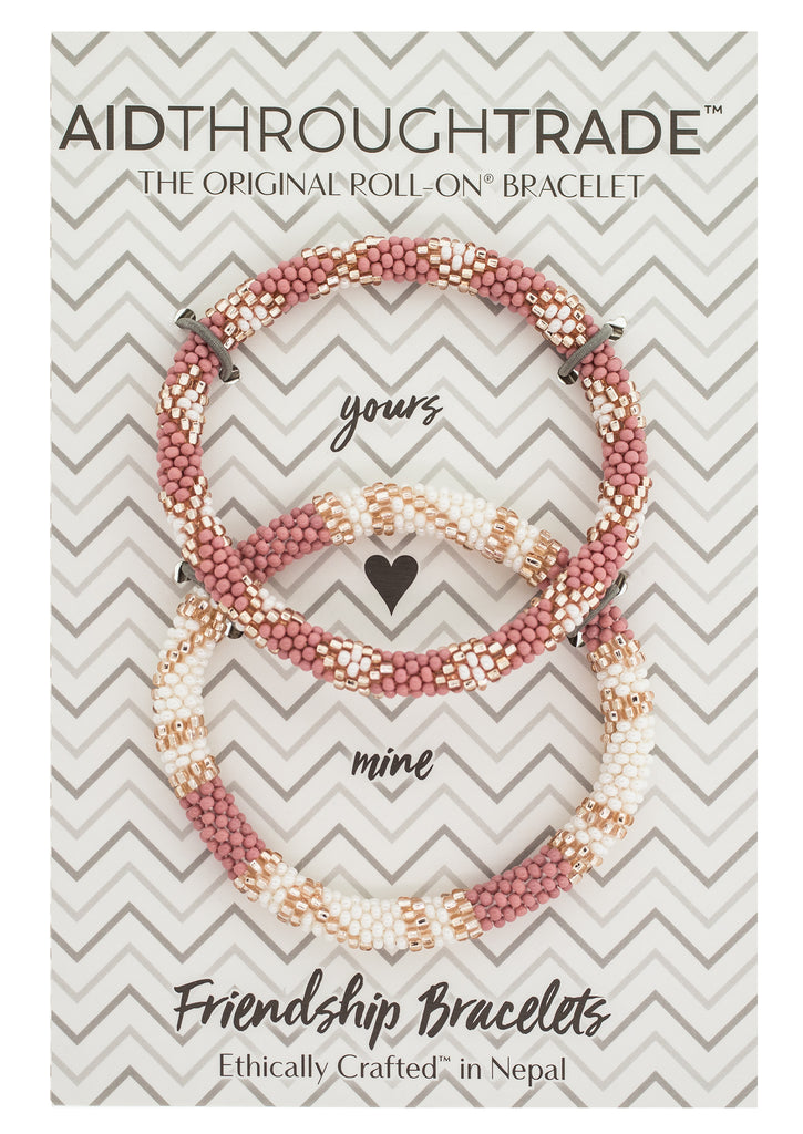 Roll-On® Friendship Bracelets <br> Desert Rose *NEW*
