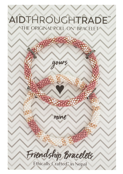 Roll-On® Friendship Bracelets <br> Desert Rose