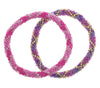 Roll-On® Friendship Bracelets <br> Fuchsia Fusion
