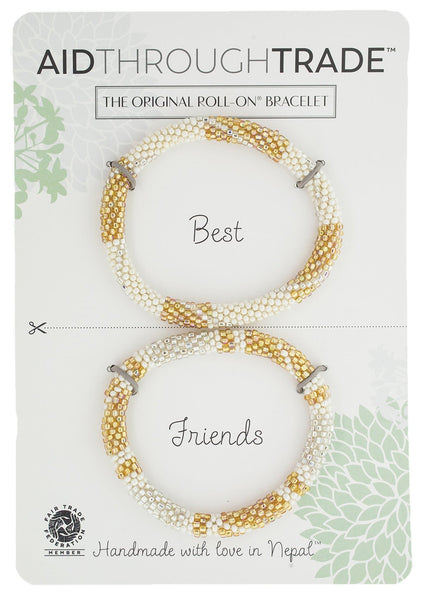 Roll-On® Friendship Bracelets <br> Golden Goddess
