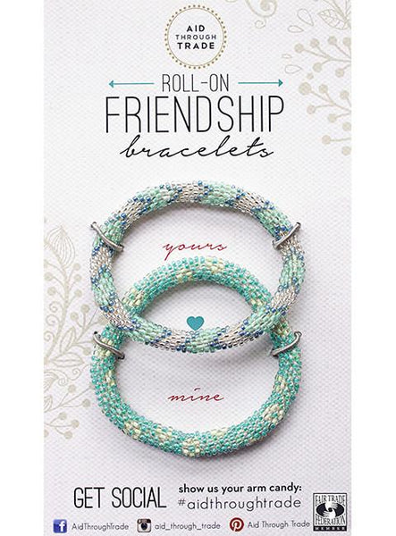 Roll-On® Friendship Bracelets <br> Lilypad