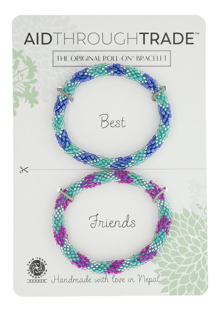 Roll-On® Friendship Bracelets <br> Sea Mist