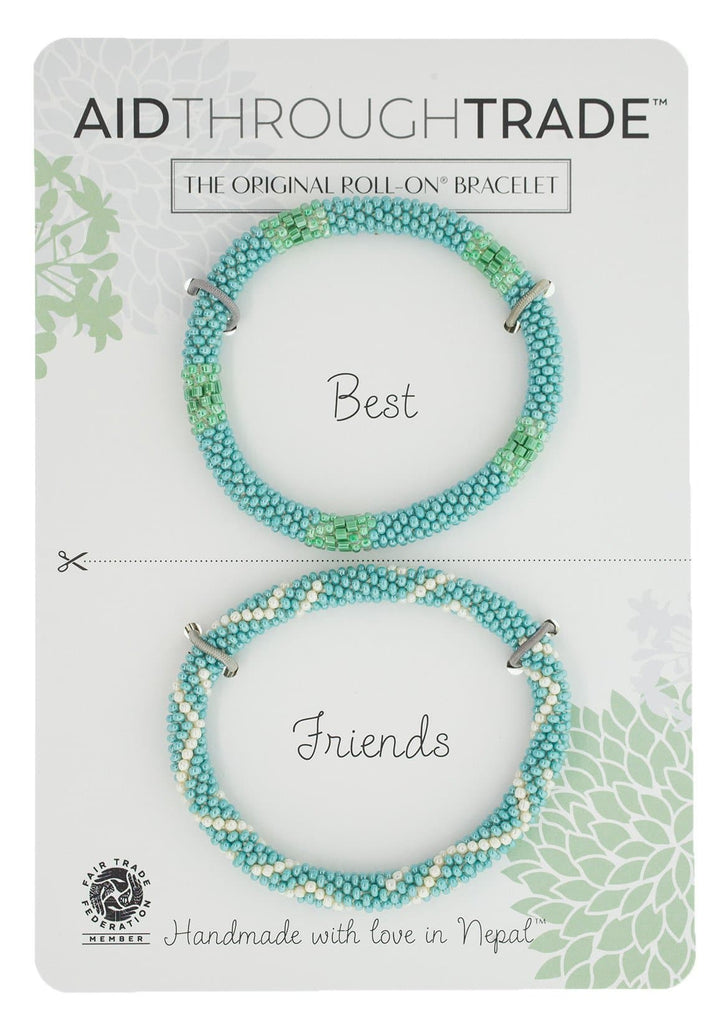 Roll-On® Friendship Bracelets <br> Turquoise Vibe