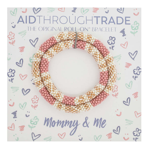 Mommy & Me Roll-On® Bracelets <br> Desert Rose