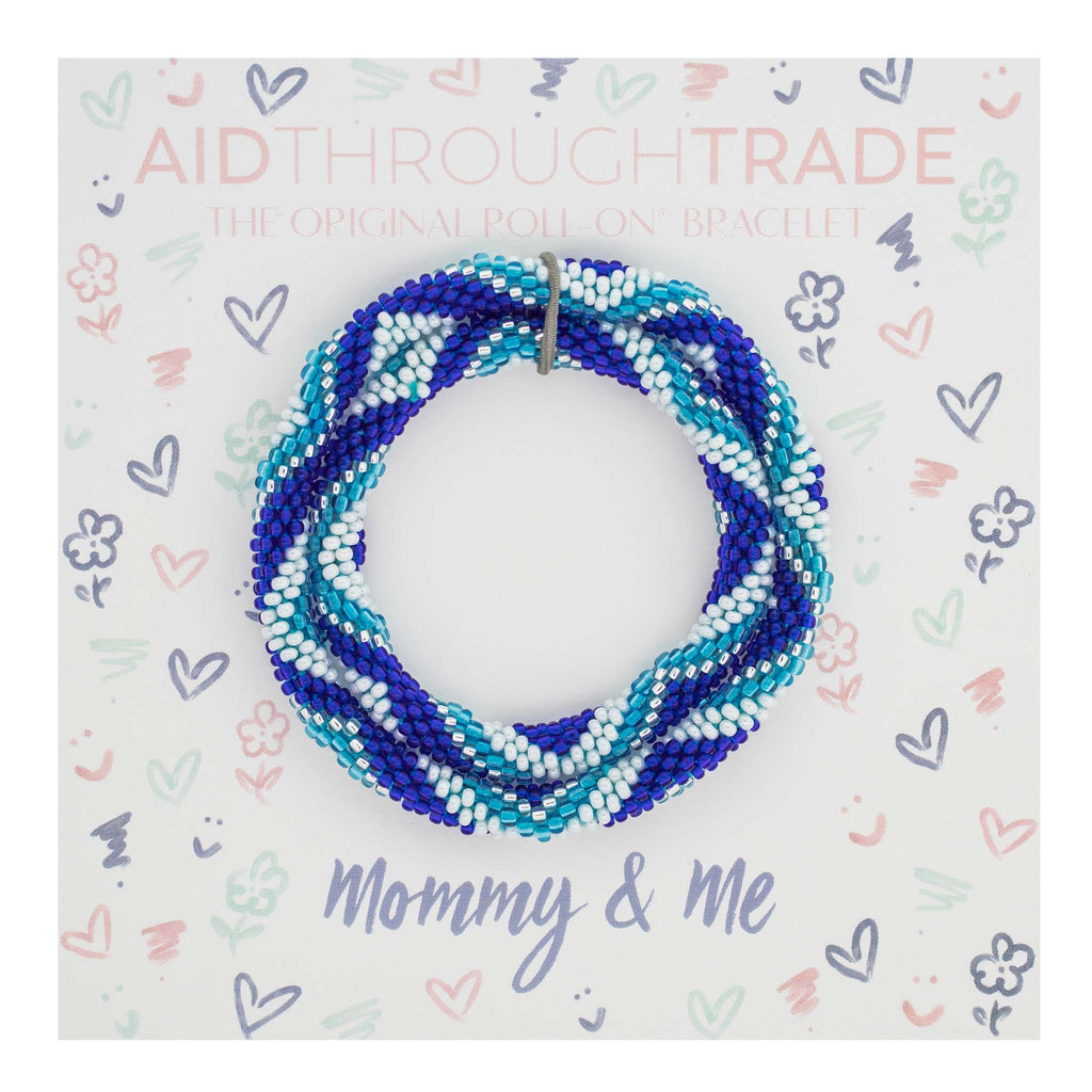 <br> Mommy & Me Roll-On® Bracelets <br> Dolphin