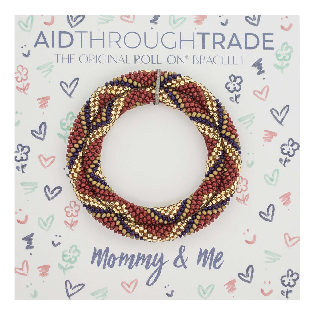 Mommy & Me Roll-On® Bracelets <br> Earthberry