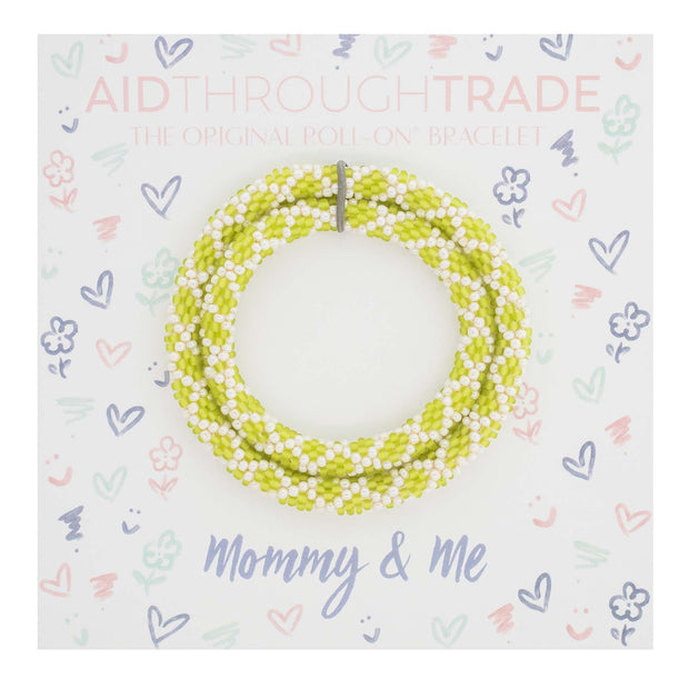 Mommy & Me Roll-On® Bracelets  Kiwi 1