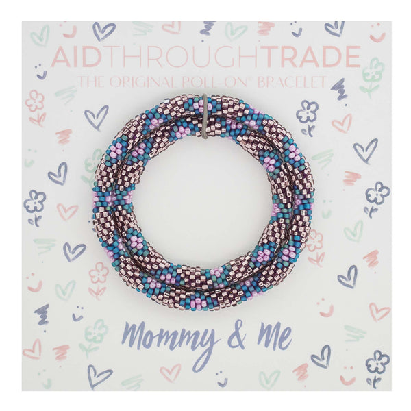 <br> Mommy & Me Roll-On® Bracelets <br> Mermaid