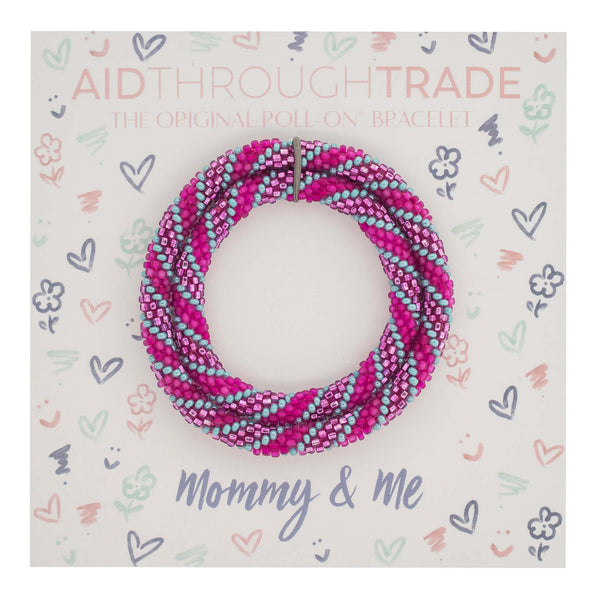 <br> Mommy & Me Roll-On® Bracelets <br> Princess