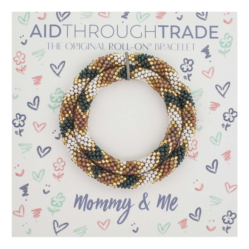 Mommy & Me Roll-On® Bracelets <br> Spruce *NEW*