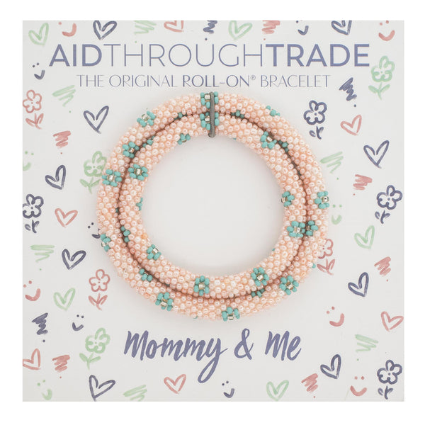 <br> Mommy & Me Roll-On® Bracelets <br> Turks and Caicos