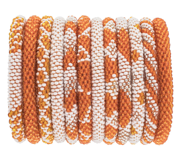 Game Day Roll-On® Bracelets <br> Burnt Orange