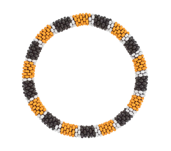 Game Day Roll-On® Bracelet <br> Orange and Black