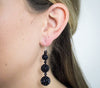 The Luxe Earring <br> Black