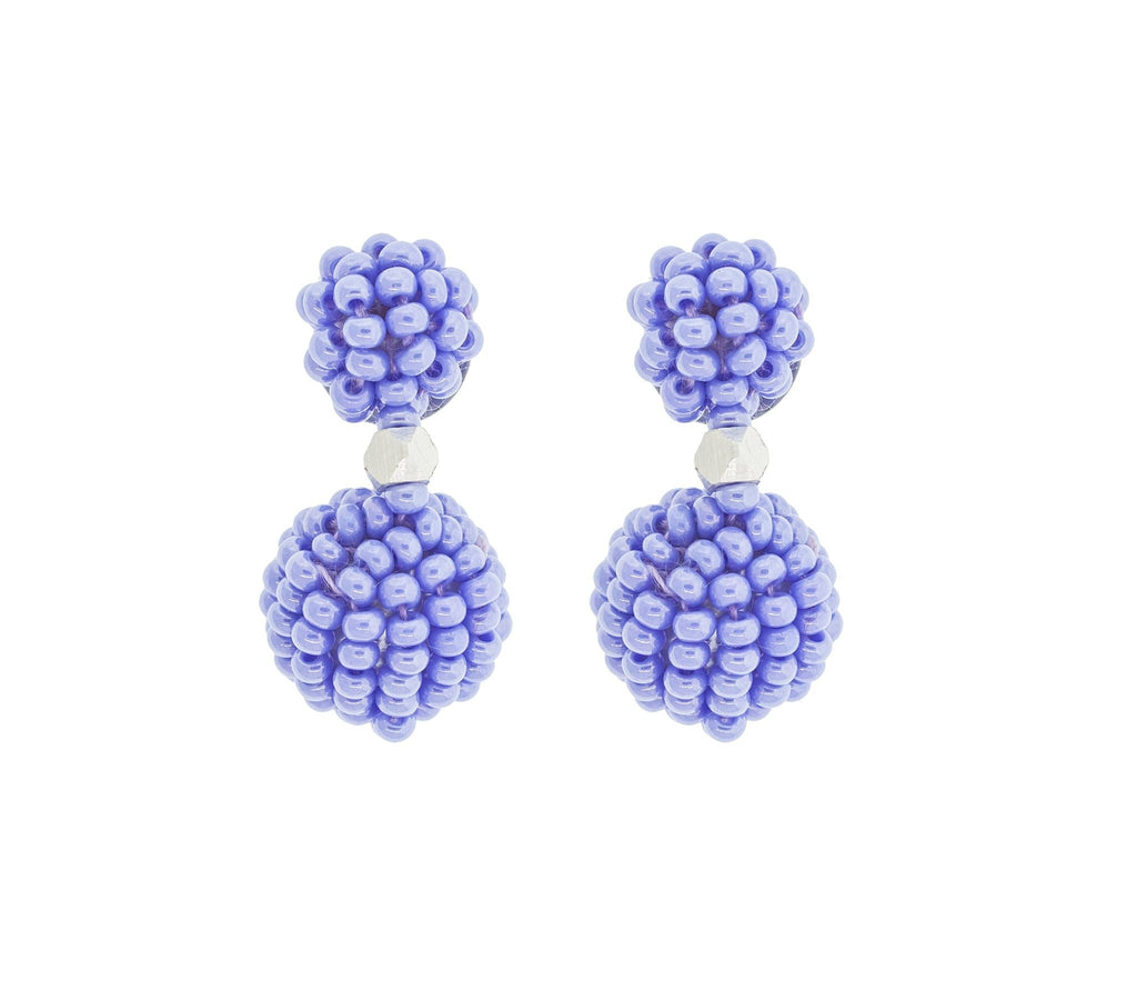 <br>The Waldorf Earring <br> Periwinkle