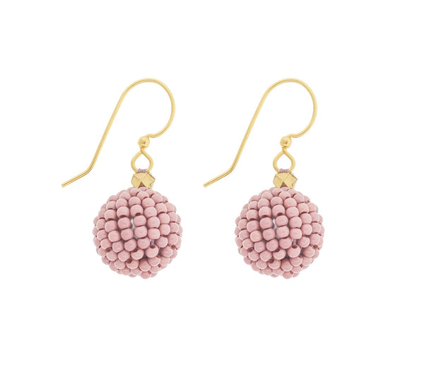 <br>The Bauble Earring <br> Desert Rose