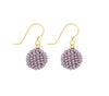 <br>The Bauble Earring <br> Mauve