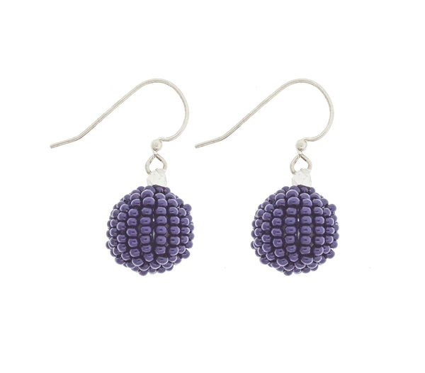 <br>The Bauble Earring <br> Indigo