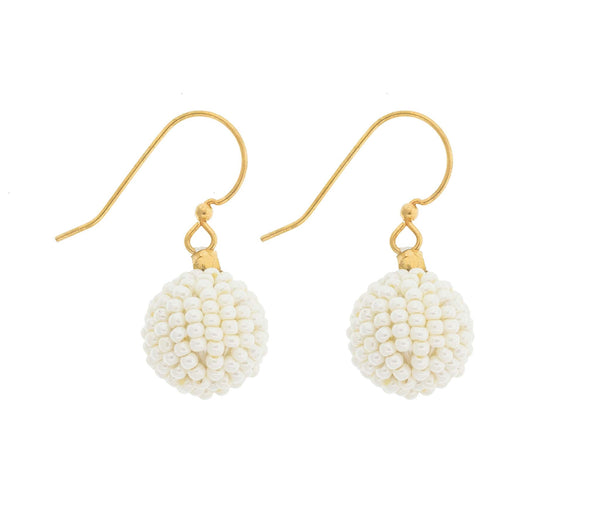 <br>The Bauble Earring <br> Cream