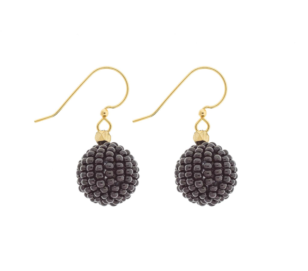 <br>The Bauble Earring <br> Black