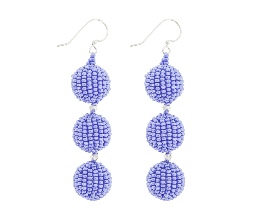 <br>The Charlie Earring <br> Periwinkle