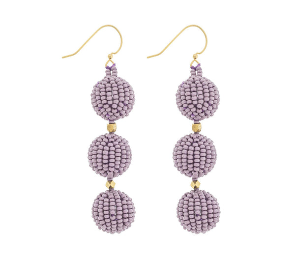 <br>The Charlie Earring <br> Mauve