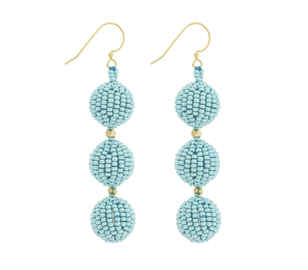 <br>The Charlie Earring <br> Turquoise