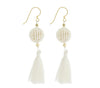 <br> The Wanderer Earring <br> Cream