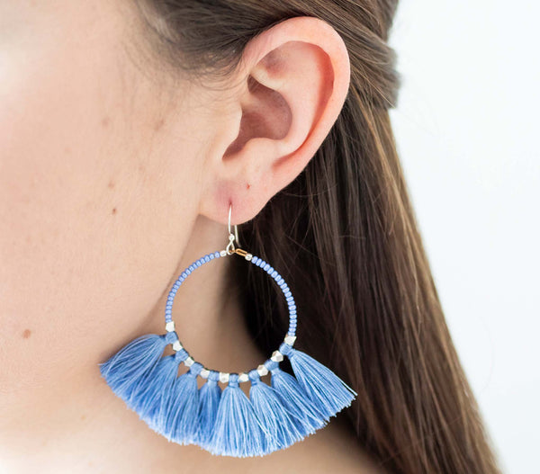 <br>The Dreamer Earring <br> Periwinkle