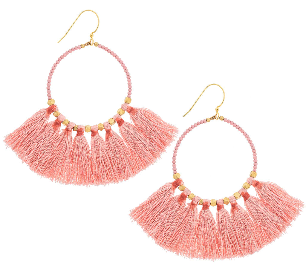 <br>The Dreamer Earring <br> Desert Rose