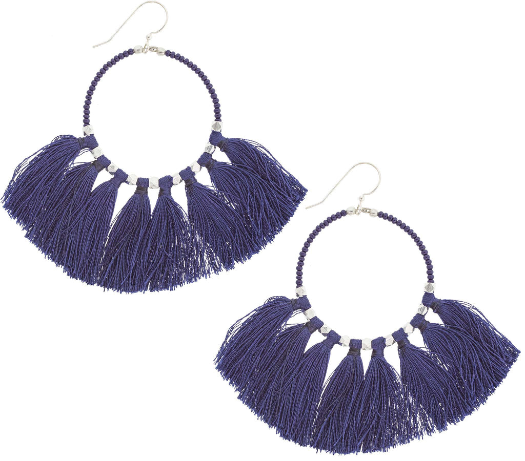 The Dreamer Earring <br> Indigo