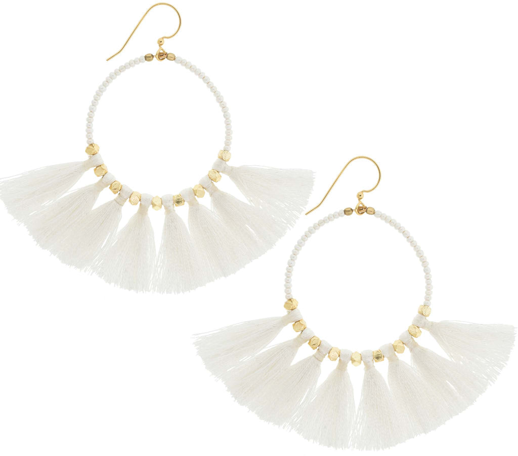 <br> The Dreamer Earring <br> Cream
