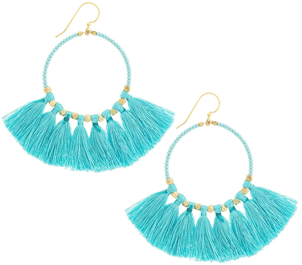 <br>The Dreamer Earring <br> Turquoise
