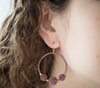 <br> The Uptown Girl Hoops <br> Wildlflower