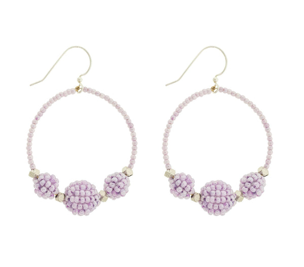 <br> The Uptown Girl Hoops <br> Seashell