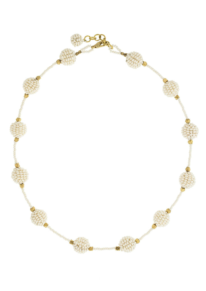 <br>The Brooklyn Necklace<br> Cream