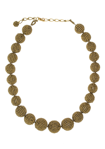 <br>The Olivia Necklace<br> Saffron